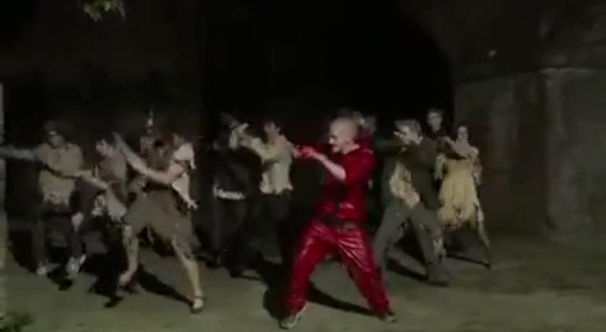 Parkour Thriller Zombies