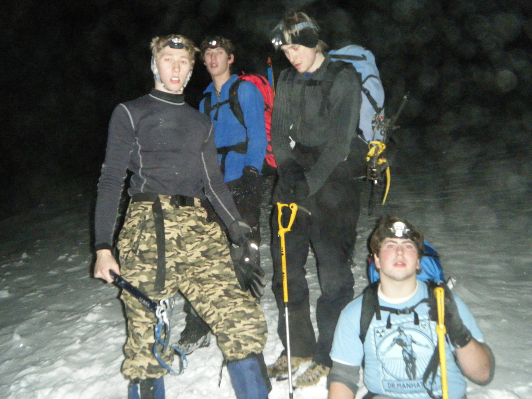 Midnight Ice Climb Up Helvellyn
