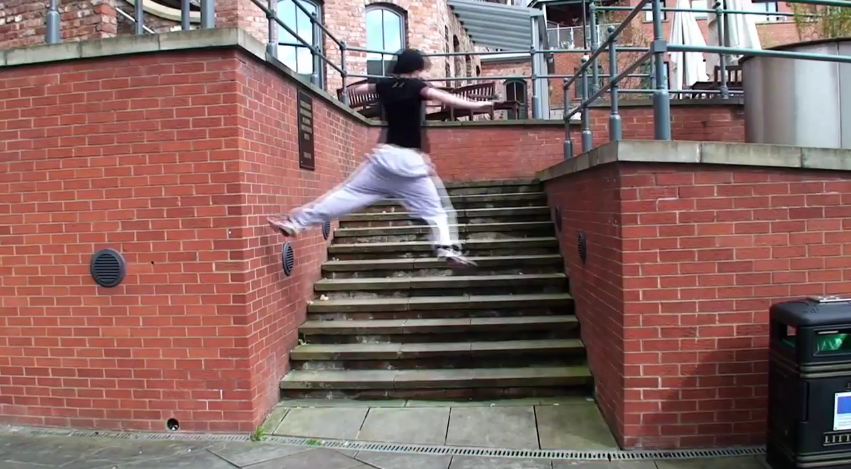 Parkour – The Nature Of Challenge