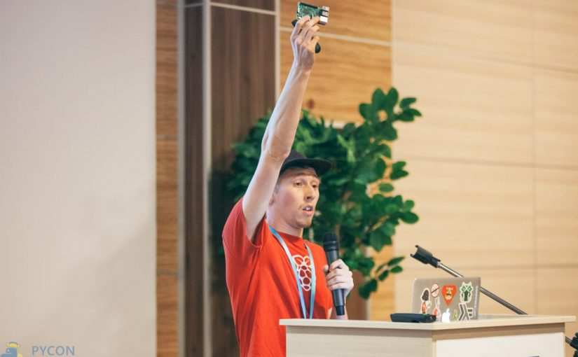 PyCon Russia keynote – Physical computing with Python and Raspberry Pi