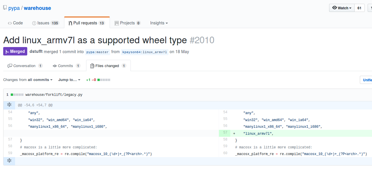 piwheels: building a faster Python package repository for