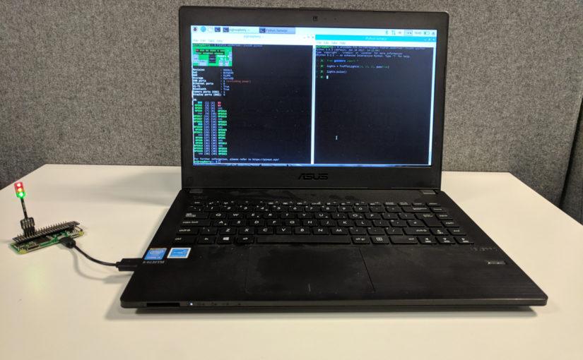 Raspberry Pi Zero GPIO expander